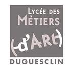 Lycée des métiers d'Art - Bertrand Duguesclin - lien partenaire