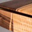 Bureau - Drosophile - détail plateau tiroir