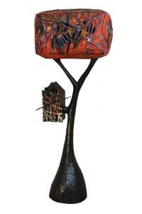 meuble sculpture un oranger