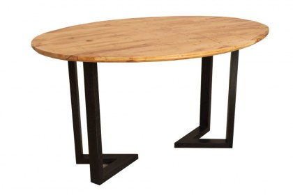 Table ovale de Bertrand Aupècle