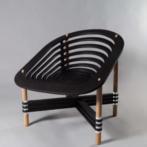 la spirale - fauteuil pliable