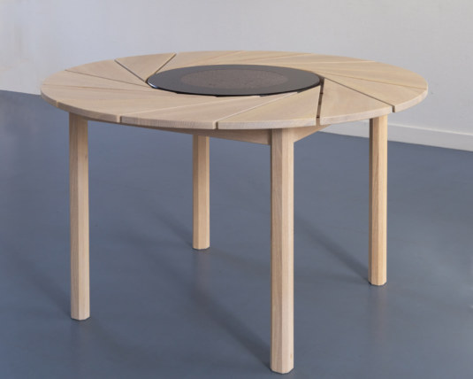 table de térasse ronde