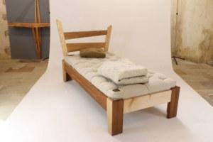 lit en bois massif, EVEIL