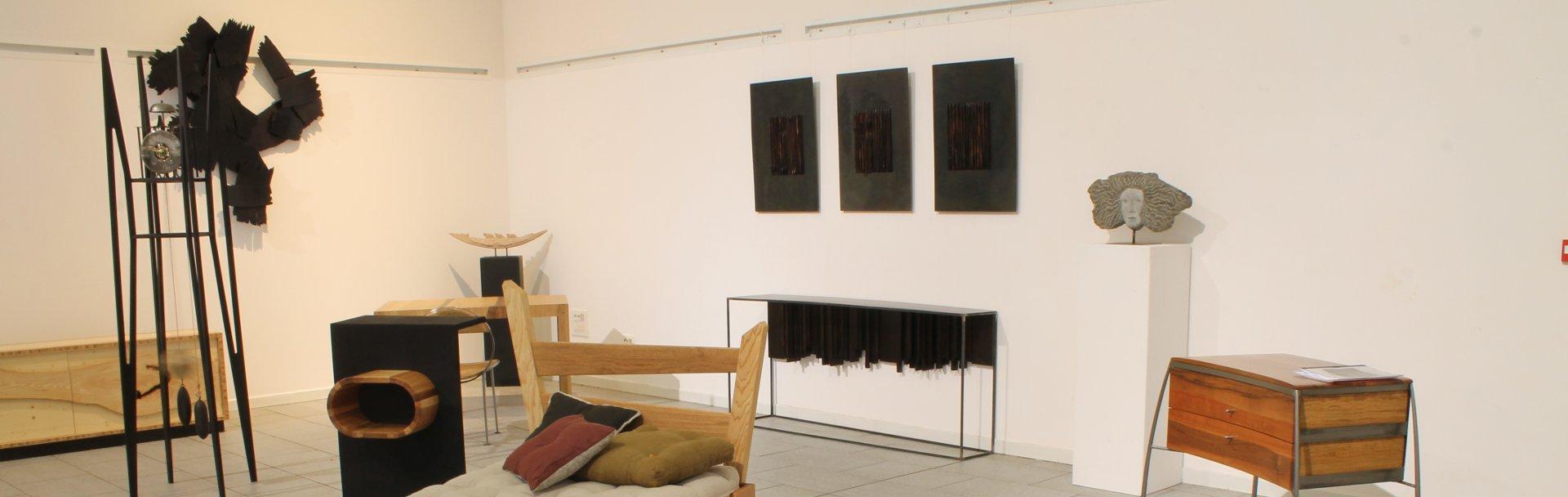 Vue d'ensemble 4 de l'exposition de Plérin